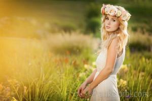 Alla -Blumenmädchen